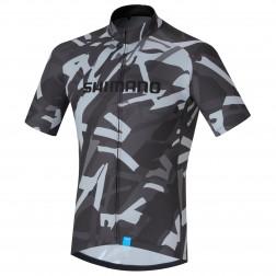 Shimano koszulka kolarska Team Jersey Gray