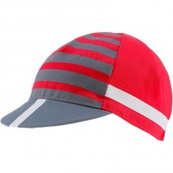 Castelli czapeczka kolarska Free Kit czerwona