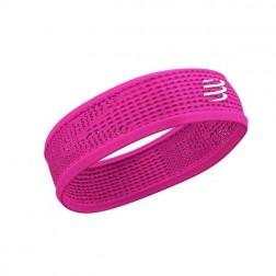 Compressport opaska na głowę On/Off Thin Headband V3 pink