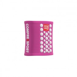 Compressport frotka Sweat Band Pink/White