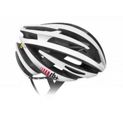 Zero RH+ kask rowerowy ZY MIPS Matt White / Arrow Matt Black