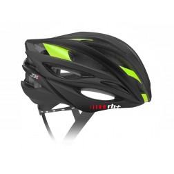 Zero RH+ kask rowerowy ZW Matt Black Bdg Shiny Green