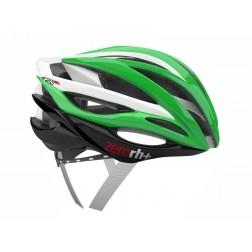Zero RH+ kask rowerowy ZW Shiny Green Shiny White