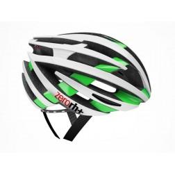 Zero RH+ kask rowerowy ZY Shiny White Shiny Green