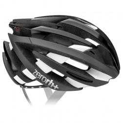 Zero RH+ kask rowerowy ZY Shiny Black Matt White