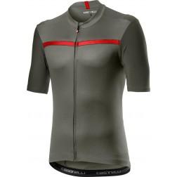 Castelli koszulka kolarska Unlimited forest grey