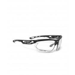 Okulary Rudy Project FOTONYK CRYSTAL GRAPHITE / BUMPERS WHITE - IMPACTX 2 BLACK