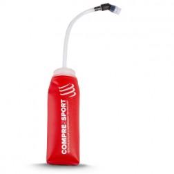 Compressport ErgoFlask Red 600ml krótka rurka