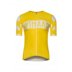 Winaar koszulka kolarska żółta K/R