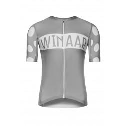 Winaar koszulka kolarska szara K/R