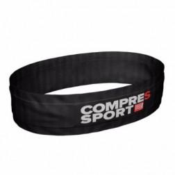 Compressport Pas na biodra free belt czarny