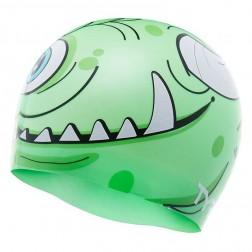 TYR czepek pływacki Monster green