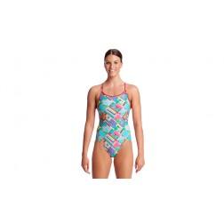 Funkita strój kąpielowy damski Street View Diamond Back